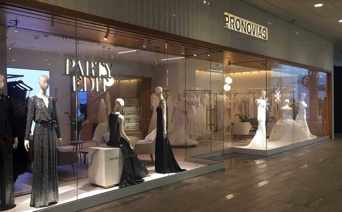Pronovias Opens Boutique In Austin's The Domain Shopping Center