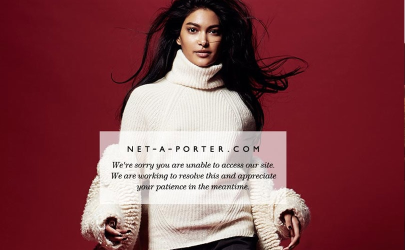 Net-a-Porter crashes ahead of Black Friday after launching sale