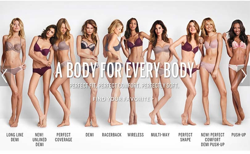 Victoria's Secret renames its Perfect 'Body' campaign after online backlash