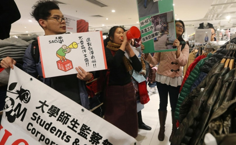 Uniqlo criticized for harsh working conditions in Chinese factories