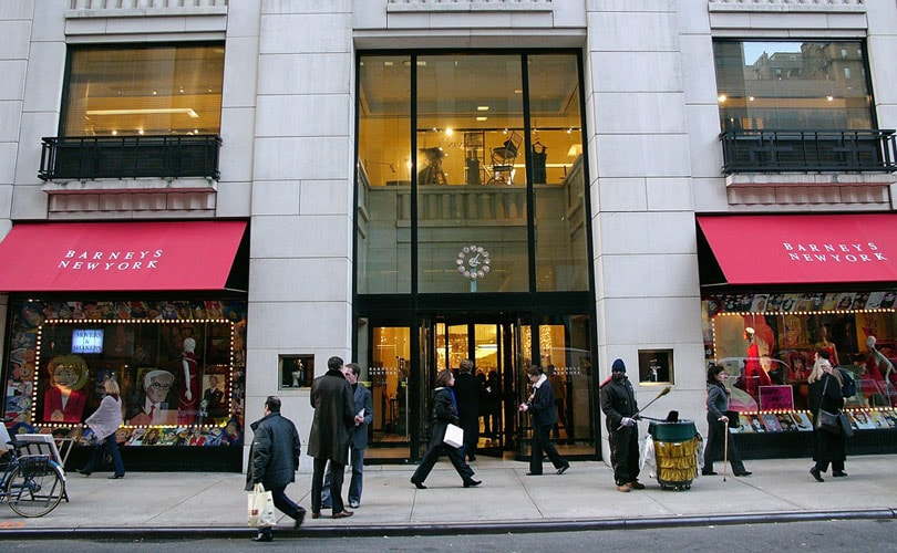 Barneys New York launches same-day delivery service