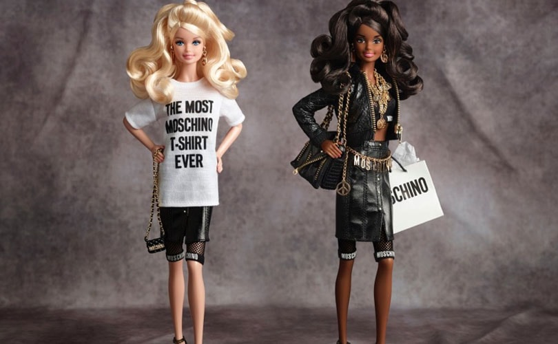 Moschino and Barbie collaborate for capsule collection