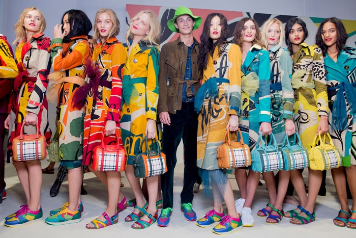 Burberry consolidates its brands