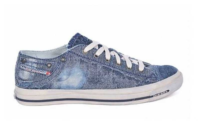 Diesel and ISKO to offer new denim shoe line