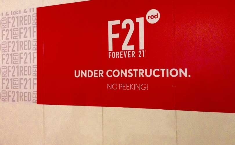 Forever 21's cheaper concept F21 Red expands