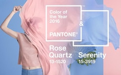 Pantone names two colours for 2016