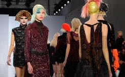 Galliano injects over-the-top theatricality into Paris Fashion Week
