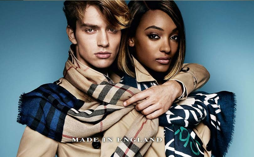 British-made boosts Burberry's revenue in H2