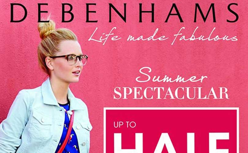 Debenhams plays the market and tops stock price