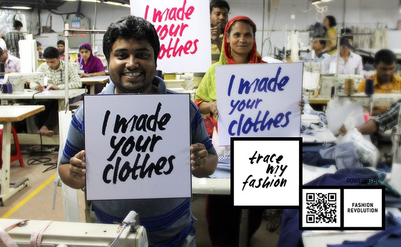 #FashionRevolution: Time to Trace Fashion by asking Who Made My Clothes?