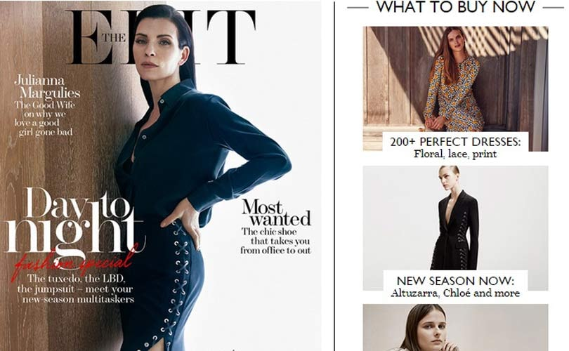 Net-a-Porter posts first profit in five years