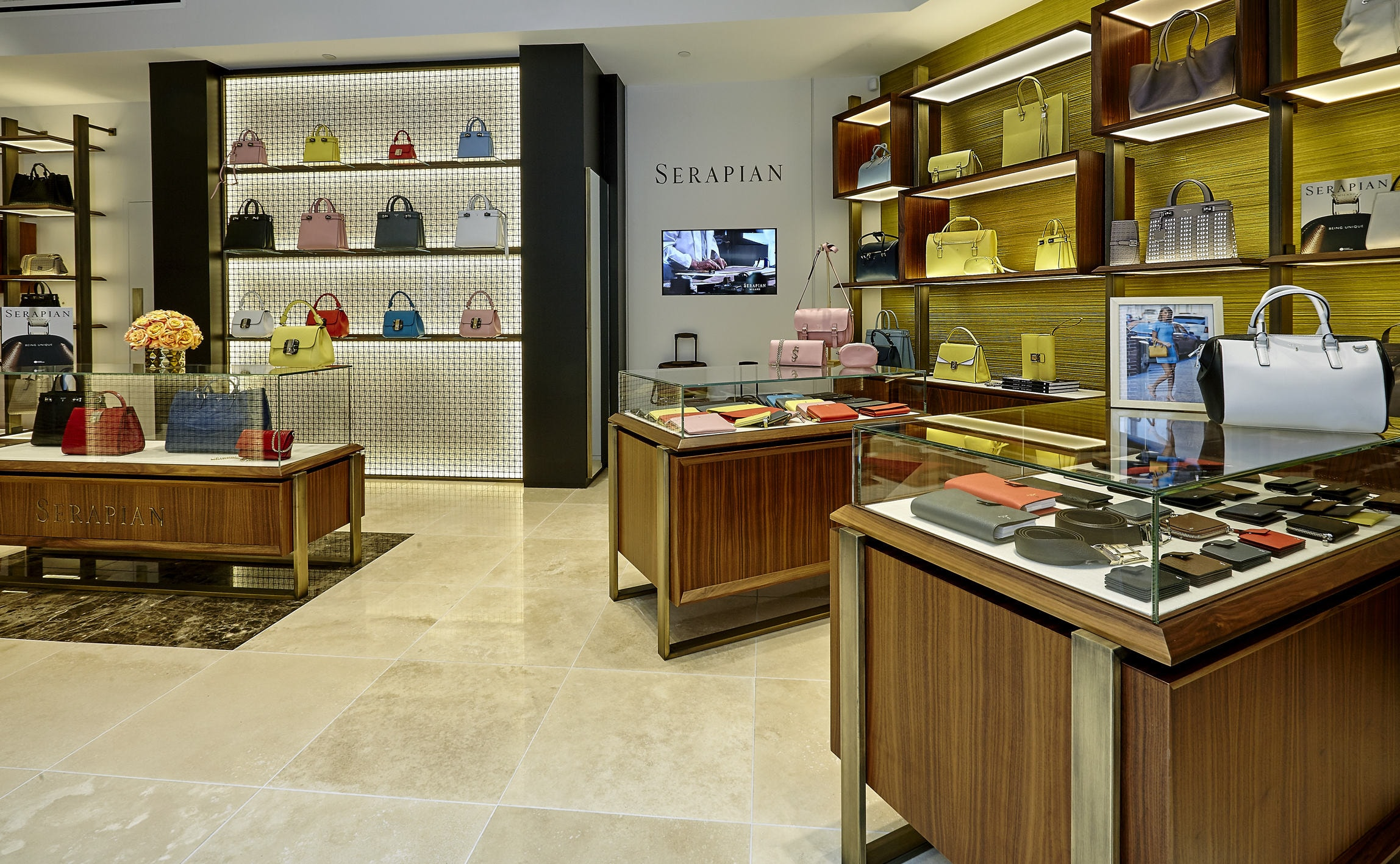 Serapian milano opens first store in us for Shop milano