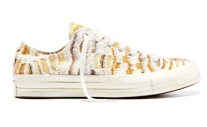 f1b8c63fd9ce9a Converse and Missoni team up for summer-inspired shoes