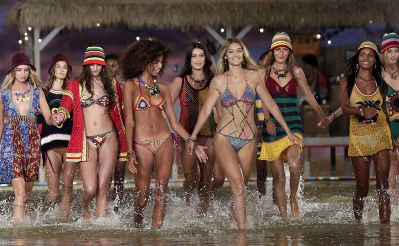 Hilfiger transforms runway into Caribbean escape during NYFW