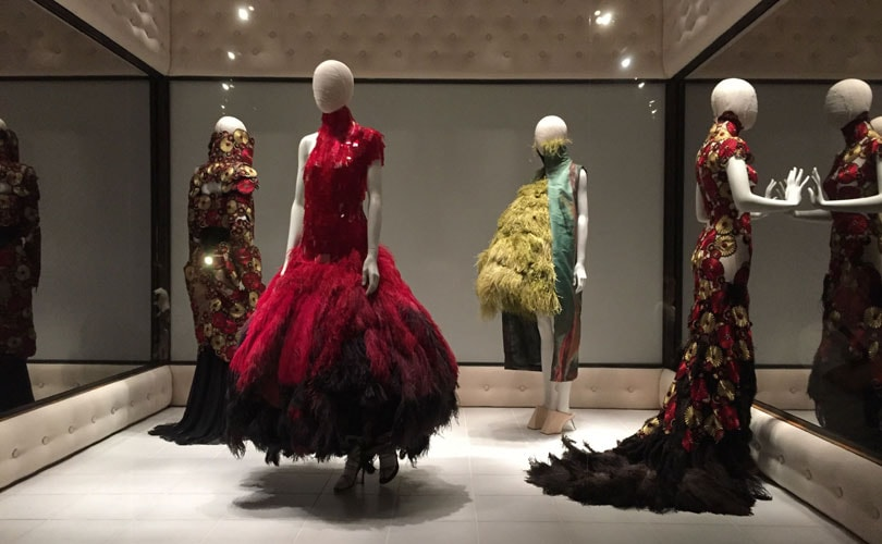 Alexander McQueen named coolest fashion brand