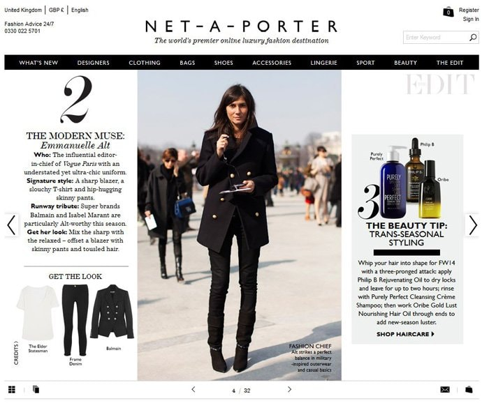 Net-A-Porter and the start of luxury fashion e-commerce