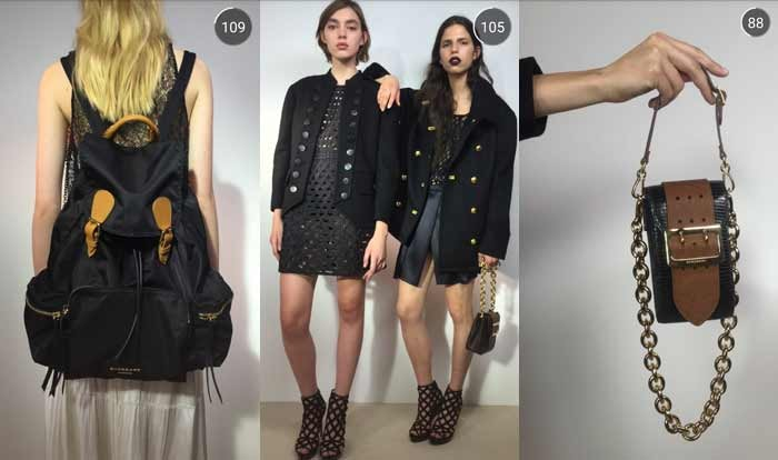 Burberry previews SS16 collection on Snapchat
