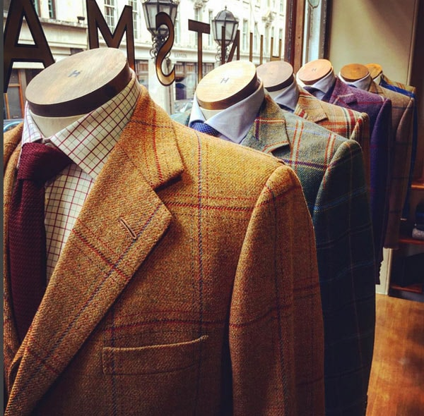 Bespoke Suiting 101 with Savile Row's Huntsman