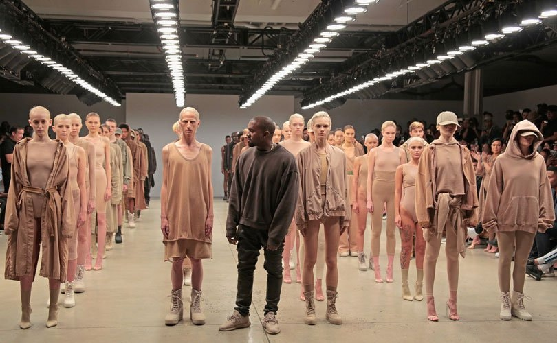Kanye West stirs up fashion controversy during NYFW