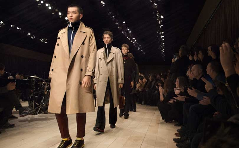 Burberry blames difficult luxury environment for sales decline