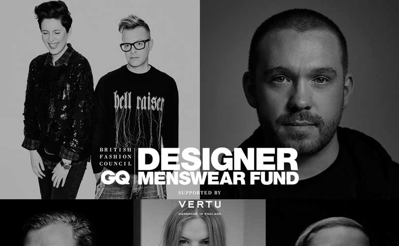 BFC/GQ Designer Menswear Fund unveils shortlist for 2016