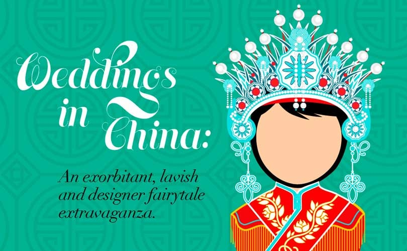 Weddings in China: An exorbitant, lavish and designer fairytale extravaganza
