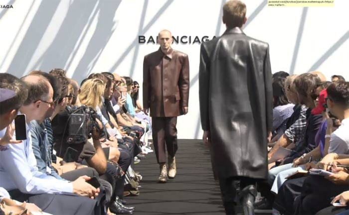 Balenciaga takes Paris Men's Fashion Week by storm