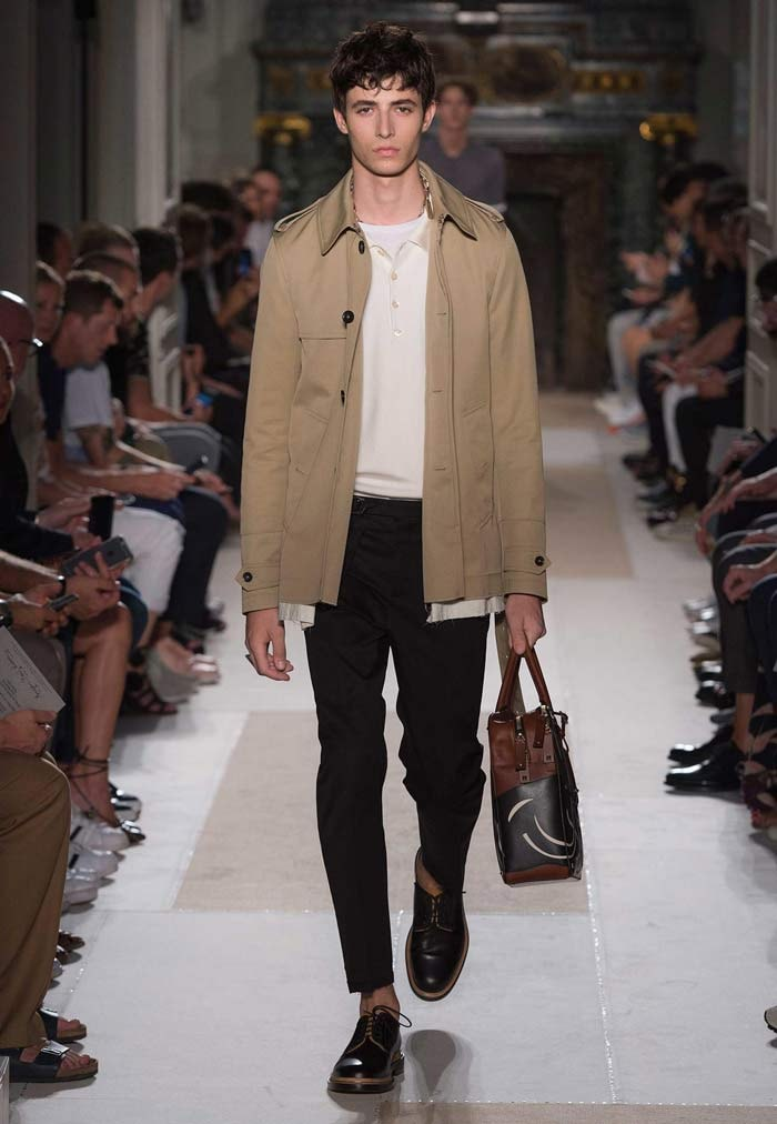 Unfitted garments ruled the runways at Valentino, Balenciaga, and Lemaire