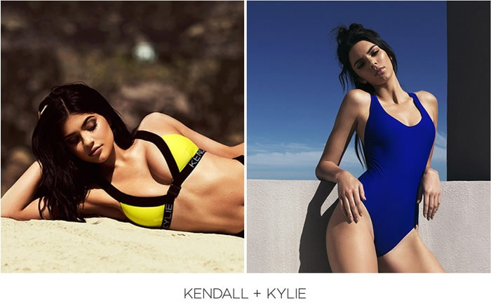 In Picture: Kendall + Kylie Swimwear x Topshop collection