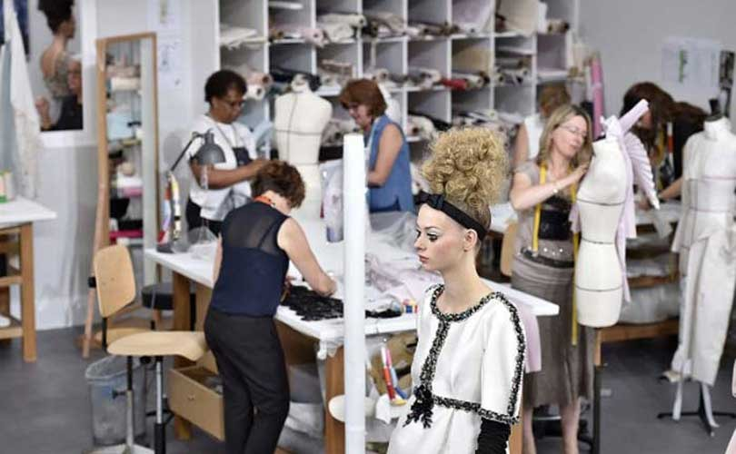 Chanel gives young pretenders a lesson in haute couture