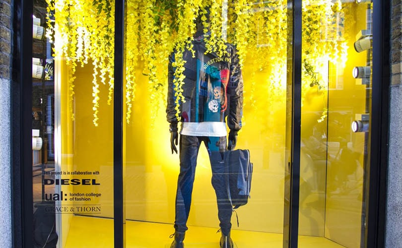 LCF students take over Diesel's Covent Garden store