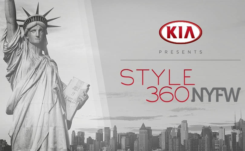 Kia Style 360 returns to New York Fashion Week