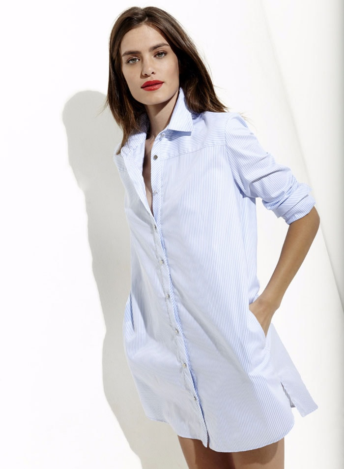 33d9e23e23458 Rue Mercer on a quest to create the perfect fitting women s shirt