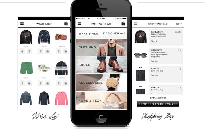 Mr Porter to release shopping app on Apple TV