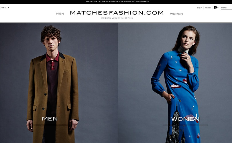 Matchesfashion.com sets its sights on 1-hour delivery and virtual reality