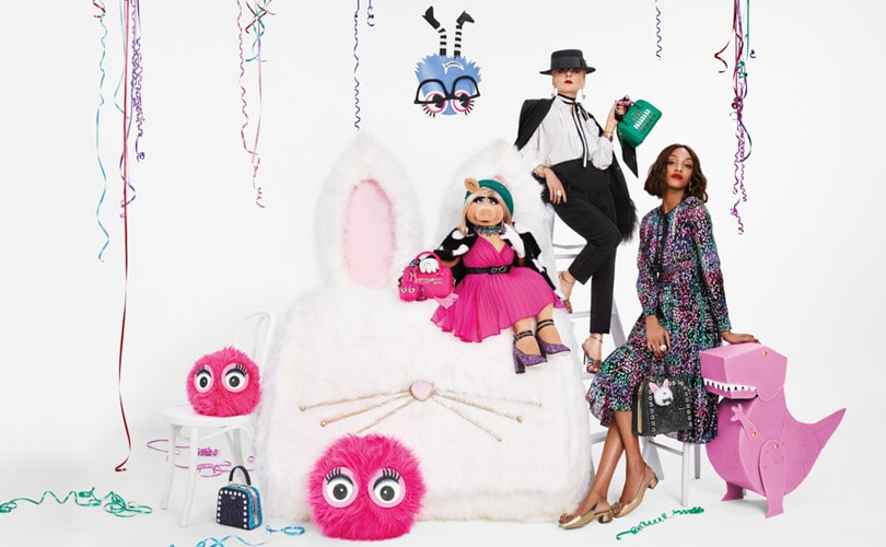 Miss Piggy stars in Kate Spade holiday campaign