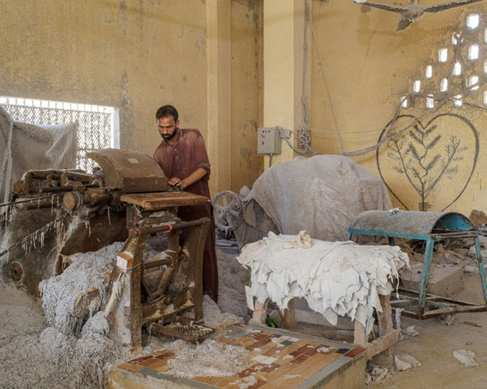 Leather workers in Pakistan plagued by health issues and low income
