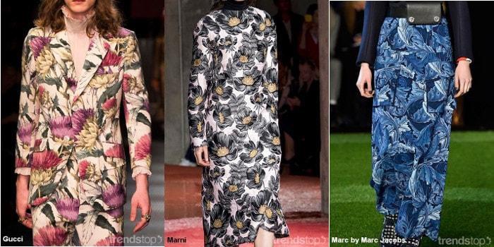 Key Print & Pattern Trends for Fall/Winter 2016-17 Womenswear