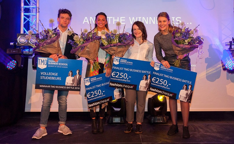 Bradley Macquine wins TMO Fashion School's Business Battle