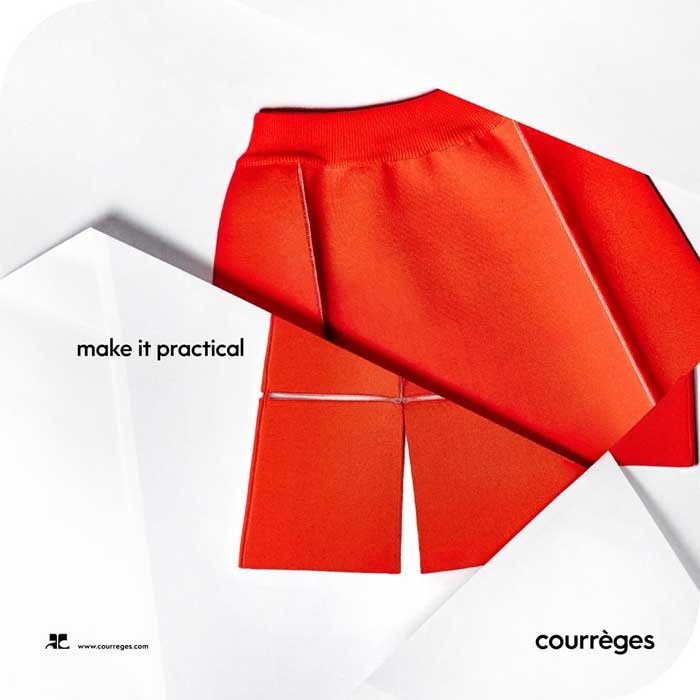 Fashion style Courreges self-heating coat is one giant step for fashion-kind for girls