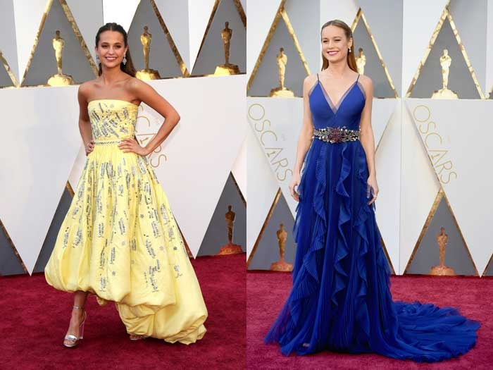 Highlights from the red carpet at the Oscars 2016