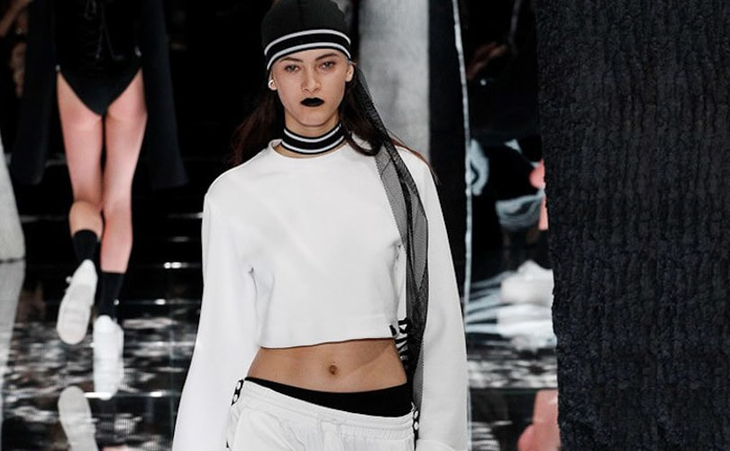 Rihanna puts the sexy into sweats in NY runway debut
