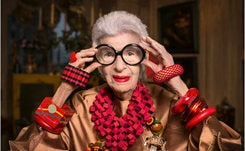 Paris fashion bows before 'geriatric starlet' Iris Apfel