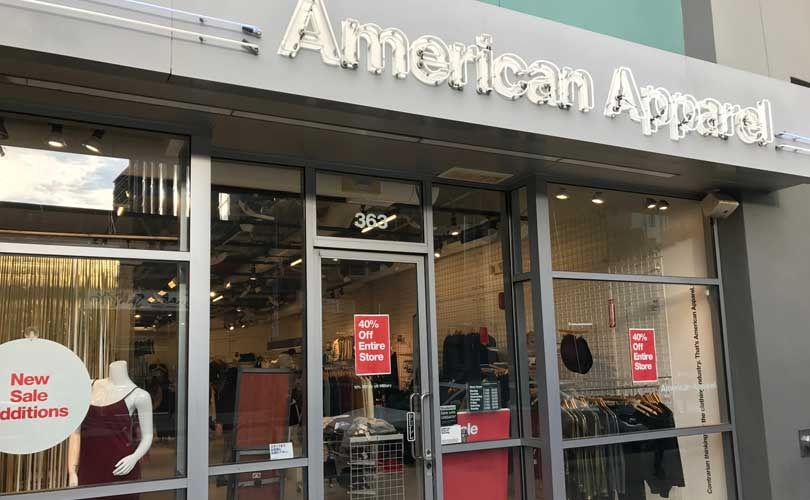 American Apparel prepares for mass layoffs amidst bankruptcy
