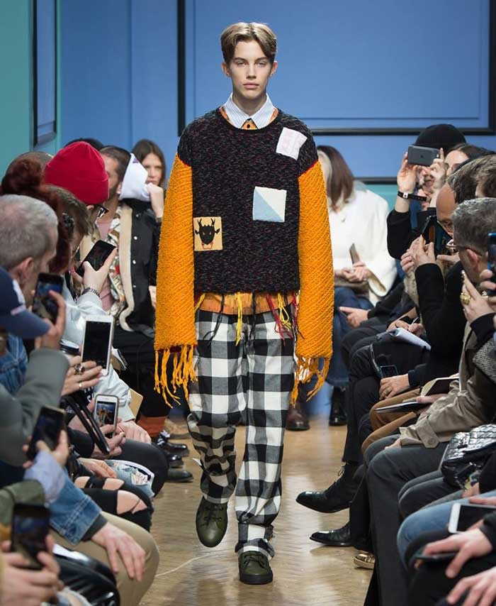 J.W Anderson shows app-inspired designs at LFWM