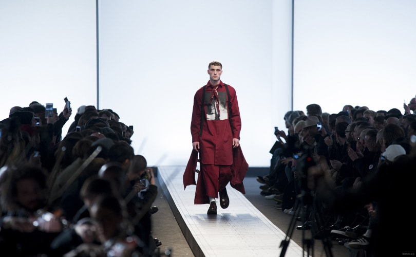 Fall Winter 2017-18 Menswear Colour on the Catwalks