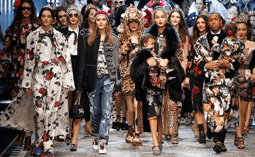 b53679ff64d Dolce   Gabbana shows its love for millennials at Milan Fashion Week