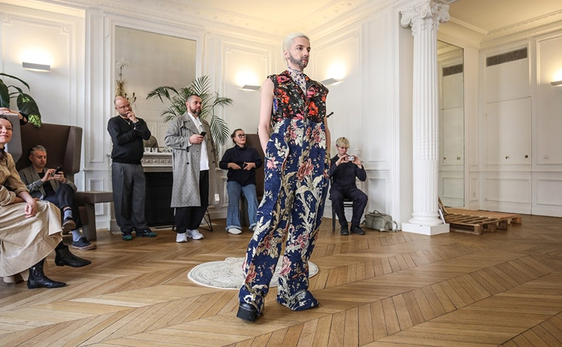 In Pictures: ArtEZ students present collection during Paris Fashion Week