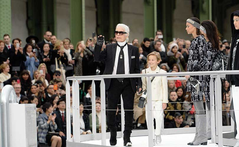 Chanel goes to outer space at Paris Fashion Week