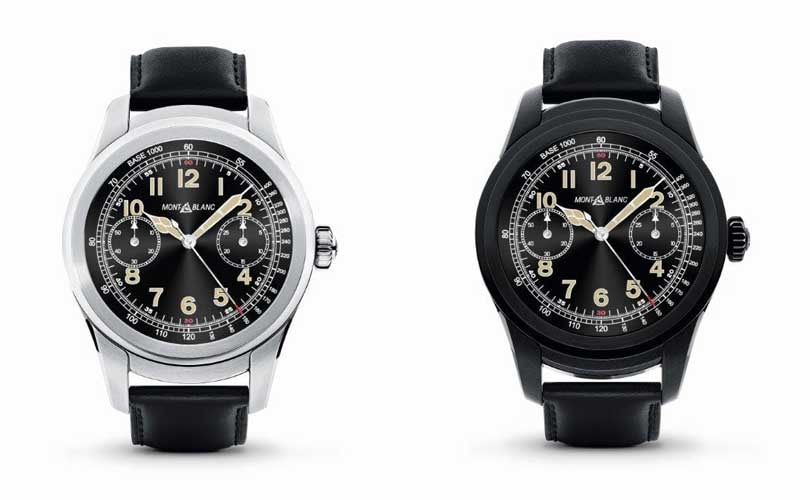 ​Montblanc to launch debut smartwatch collection exclusively on Mr Porter